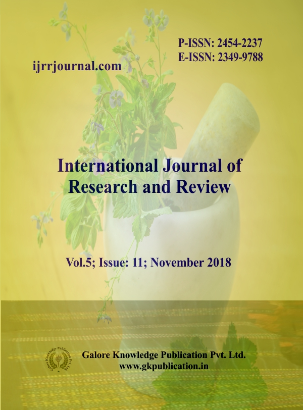 MCI Approved Journal: International Journal of Research and