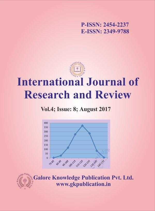 MCI Approved Journal: International Journal of Research and Review